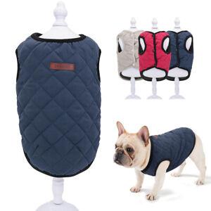Wintermantel-Chihuahua-Jacke-Hundebekleidung-Winter-Weste-Katzenkleidung-XS-2XL