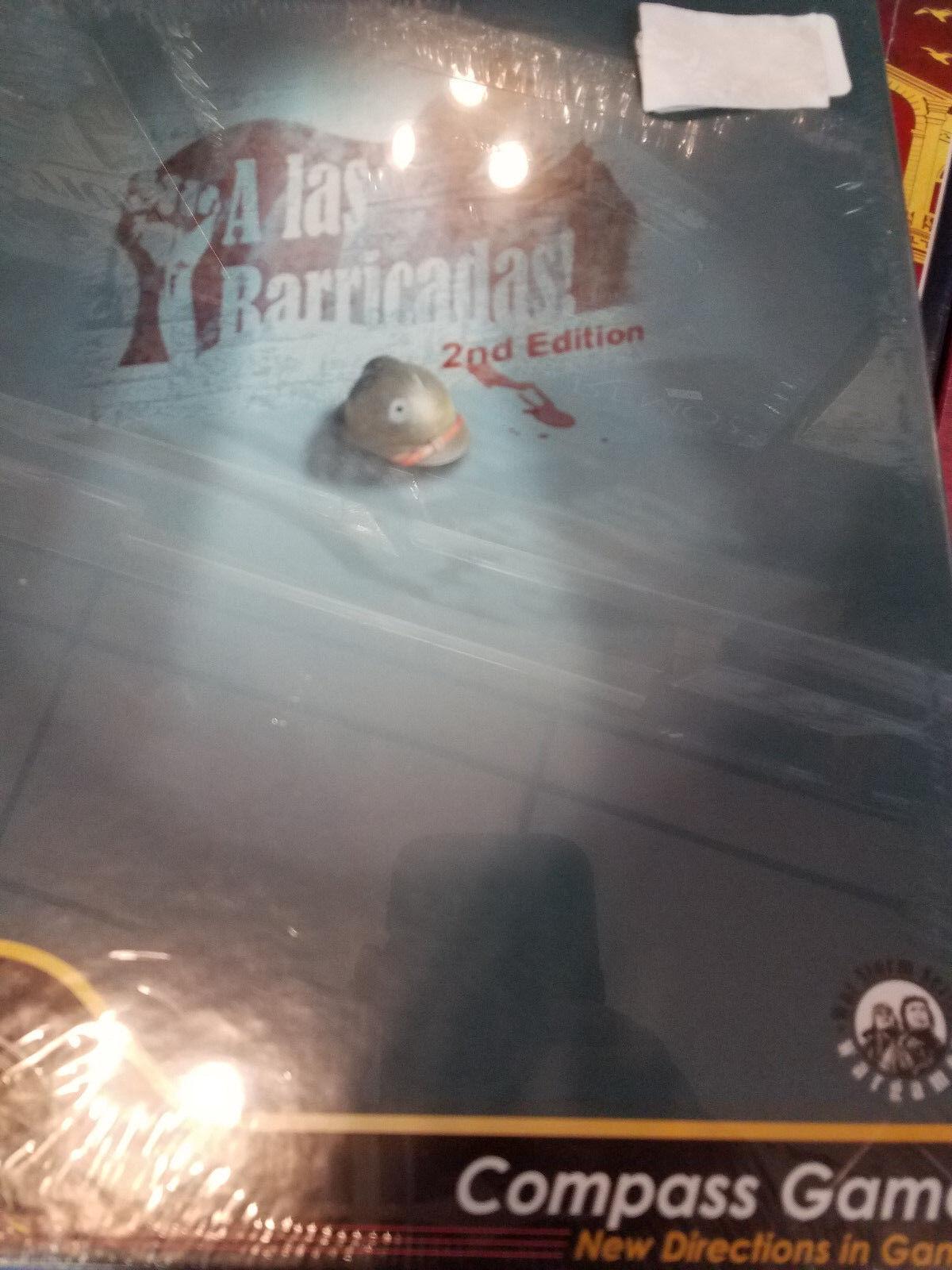 A LAS barrias 2nd Edition-Compass Games Jeu de plateau NOUVEAU  Guerre Storm Série