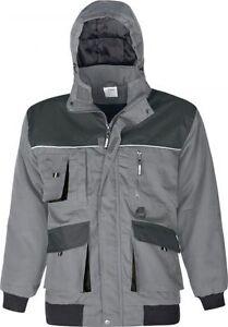 Grau Details Winterjacke GrS Power Schwarz Und Zu 5xl Triuso Jacke Wind Wasserabweisend j5q34ARL