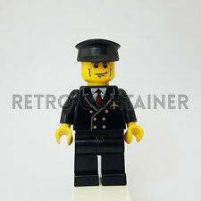 LEGO Minifigures - 1x air043 - Pilot - Airport Omino Minifig Vintage Set 3181