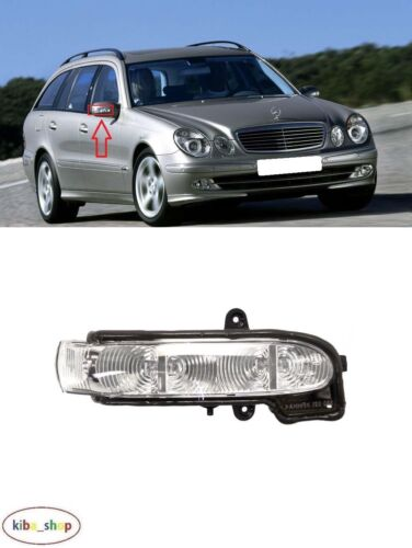 MERCEDES E-CLASS W211 2003-2006 NEW WING MIRROR LED INDICATOR RIGHT O//S DRIVER