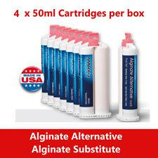 Alginate Substitute Alternative 8 X 50ml Or 4 Cartridges Fast Set Mark3 9010