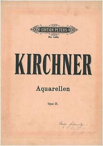 Kirchner-Aquarellen-Opus-21