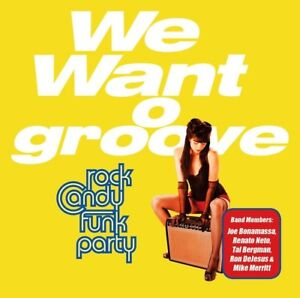 ROCK-CANDY-FUNK-PARTY-WE-WANT-GROOVE-2-CD-DVD-NEW