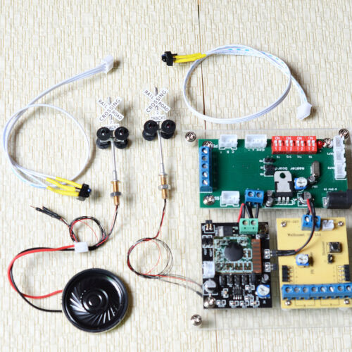 automatic control system with sound effect /& blink 1 set grade crossing signal