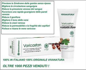 1 x Varicastan massaggio gambe antinfiammatorio vene varicose PRODOTTO UFFICIALE