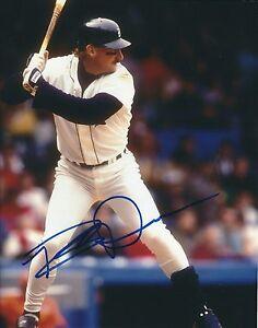 Autographed ROB DEER Detroit Tigers Photo -COA