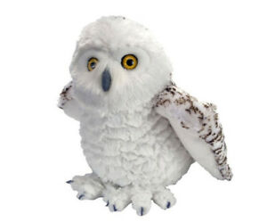 "Snowy Owl soft plush toy 12""/30cm Stuffed animal Cuddlekins Wild Republic NEW"