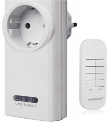 Smartwares Smarthome Funk-Steckdosen-Set 3600 W SH5-RPS-36A mit Fernbedienung