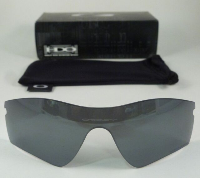 9c99a3748773 Oakley Radar Path Replacement Lenses Black Iridium Polarized One Size