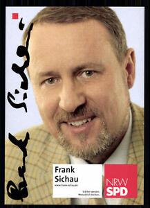 LiebenswüRdig Frank Sichau Autogrammkarte Original Signiert ## Bc 17873 Clear-Cut-Textur Autogramme & Autographen Sammeln & Seltenes