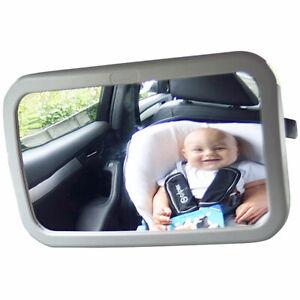 360/° schwenkbar f/ür Baby Kinderbeobachtung R/ücksitzspiegel R/ückspiegel Baby Autospiegel Shatterproof Car R/ückspiegel kompatibel mit meisten Auto drehbar doppelriemen Spiegel Auto Baby