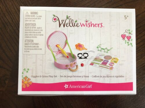 American Girl Wellie Wishers Accessories Giggle and Grins Play Set NEW NIB