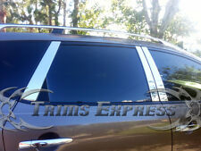 Fit:2009-2014 Nissan Murano 6Pc Chrome Pillar Post Stainless Steel