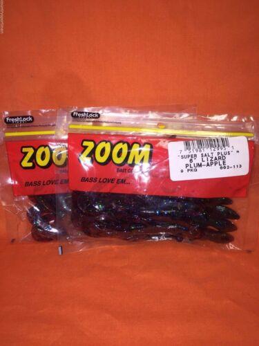 "#002-113 prune Apple Zoom 6/"" Lézard 2 Pcks 9cnt"