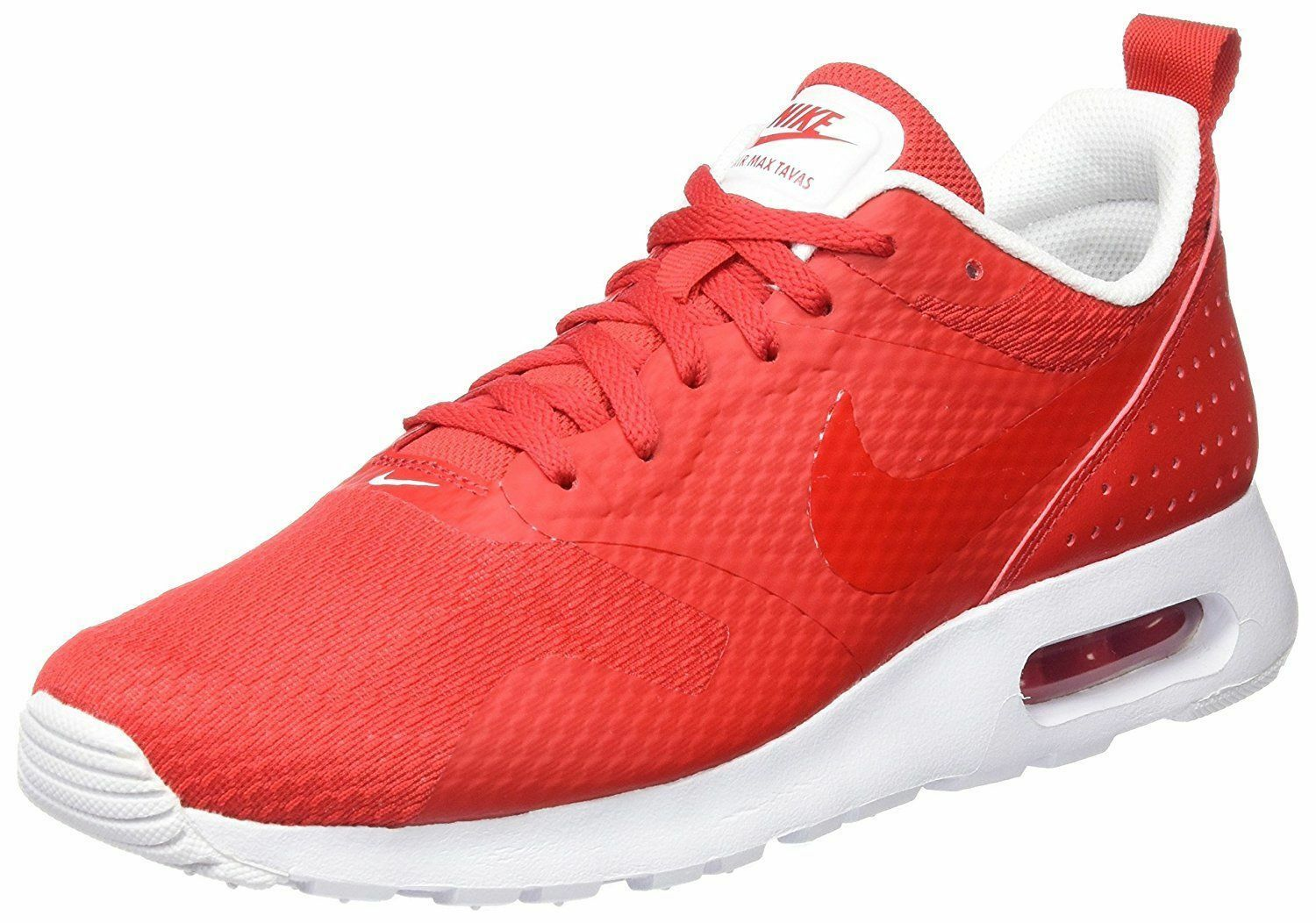 Nike Hommes Air Max 705149-605 100% Authentic Tavas rouge /blanc 705149-605 Max Size8.5-12 8598f4