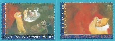 Spezieller Sommer Sale Europa: Zirkus Aktiv Vatikan Aus 2002 ** Postfrisch Minr.1415-1416 Top!!