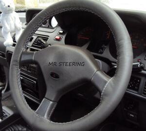 Italian Leather Steering Wheel Cover fit PONTIAC