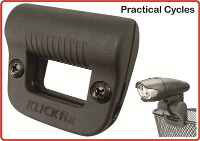 Rixen /& Kaul Bike Light Clip for Fitting Lights to Cycle Baskets