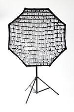 Umbrella Octagon Softbox 110cm mit Wabenvorsatz Universal, Schirm Softbox