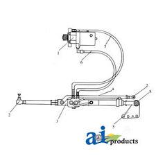 A Mf105 For Massey Ferguson Power Steering Conv Kit 165 168 175 178 18