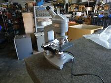 Ao American Optical Sixty Monocular Microscope 3 Objectives 10x 43x 100x 50ea