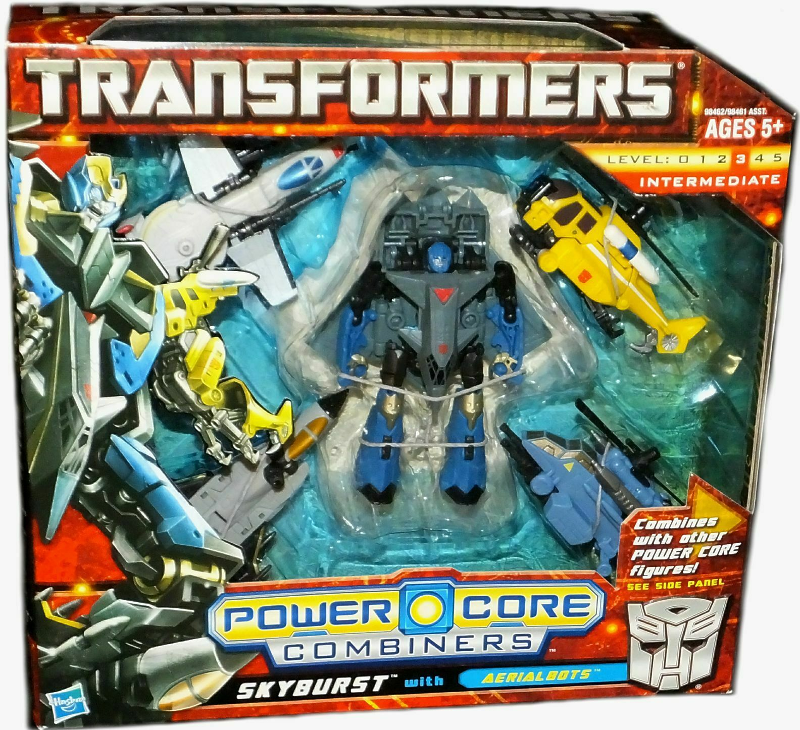 Transformers Power Core Combiners Skyburst with Aerialbots Factory Seal 2010 New