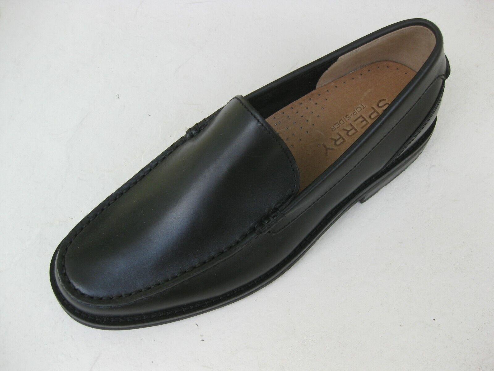 centro commerciale di moda Sperry TopSider Uomo Uomo Uomo scarpe NEW  130 Essex Venetian Loafer nero Leather 10 M  a prezzi accessibili