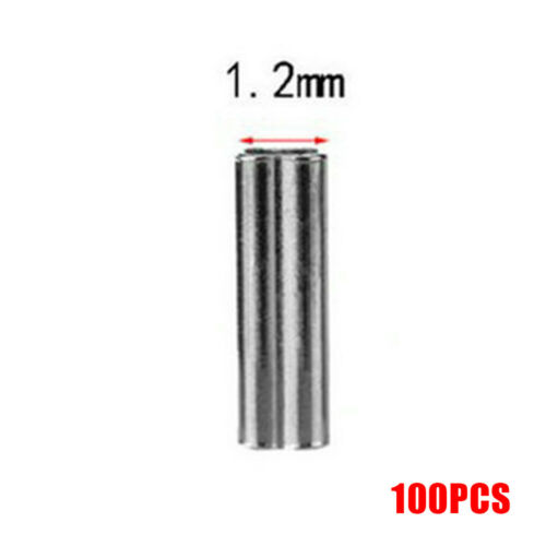 Fishing Wire Tube Fish line holder Line Crimping Tube Double Sleeves Copper