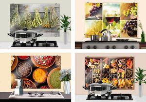 spritzschutz glasbilder fliesenschild spiegel küche pantry