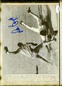 Don-Baylor-George-Scott-Jsa-Coa-Autograph-8x10-Wire-Photo-Hand-Signed-Authentic