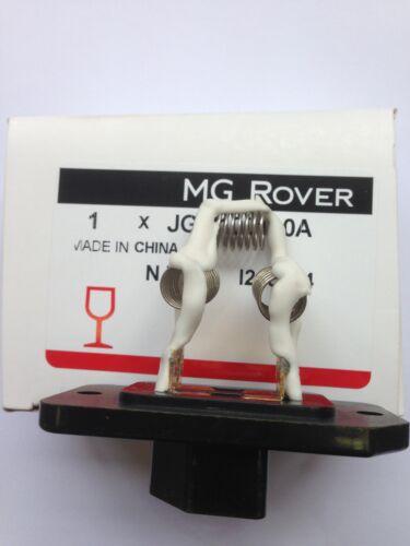 MGF MGTF HEATER RESISTOR NEW GENUINE MG ROVER PART ORIGINAL NUMBER JGM100060