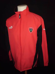 veste de survêtement RCT TOULON Puma Rouge