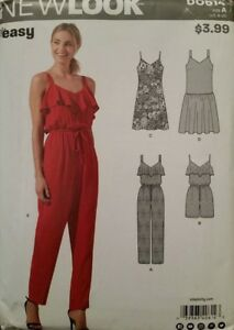 c956e6fc0 D0614 Uncut Easy New Look Sewing Pattern For Misses  Jumpers   Dress ...