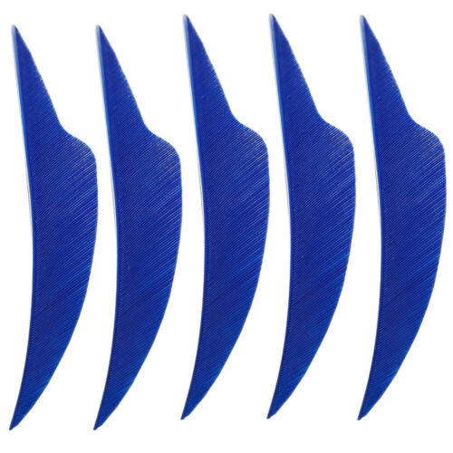 30pcs Truthahnfedern Naturfeder 4 Zoll Bogenschießen Pfeilfedern Befiederung