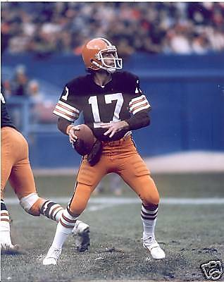 BRIAN SIPE CLEVELAND BROWNS UNSIGNED 8X10 PHOTO