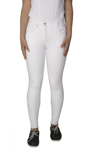 ♡ TOGGI ♡ Marwari Ladies Stretch Denim Breeches Polo Showjumping SALE Navy//White