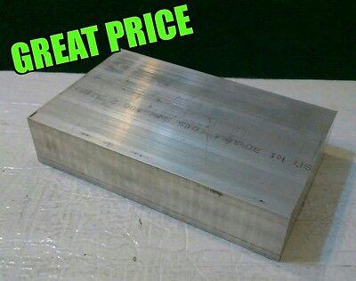 "1//8/""x 7.6/""x 10-3//4/"" long new 6061 solid aluminum sheet plate flat stock .125"