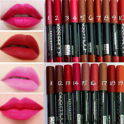 Sexy Lady Women's DS Waterproof Lip Pencil IU Lipstick Lip Gloss Makeup Chic