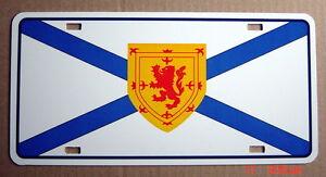 UNUSED-AUTO-PLATE-NOVA-SCOTIA-FLAG