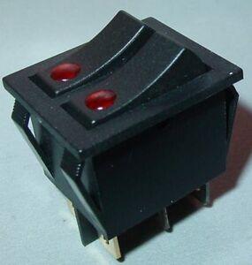 Doppel-Wippenschalter-Einbauschalter-beleuchtet-EIN-AUS-15A-250V-S61S