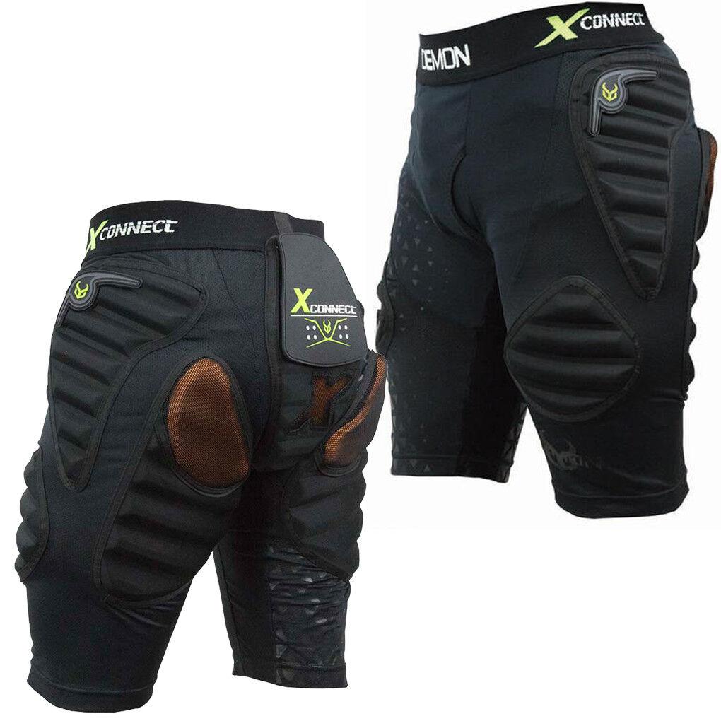 Demon X - Flex Force Connect X d3o forrado de esquí impacto Short shorts ds1622