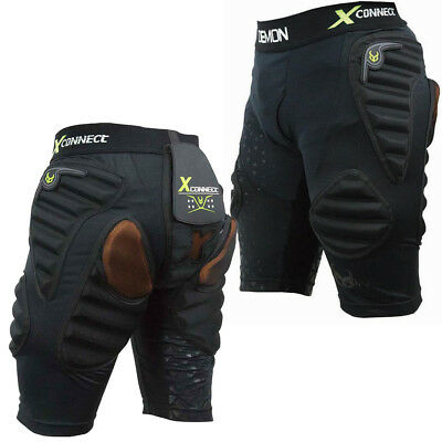 Demon X Flex-Force Connect X D3O Acolchado Snowboard Pantalones Impacto Cadera