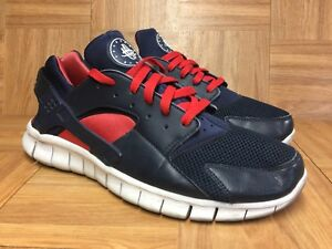 7d6f0a54b1e7 Nice🔥 Nike Huarache Free Run 2012 Obsidian Blue Action Red Pink ...