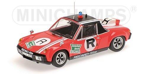 Porsche 914 6 Ons R2 1974 1 43 Model MINICHAMPS