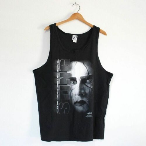 Vintage Sting WCW World Champion Wrestling Tank T… - image 1