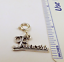 Sterling-Silver-034-Princess-034-Charm-on-Silver-Spring-Ring-For-Charm-Bracelets-0874 thumbnail 3