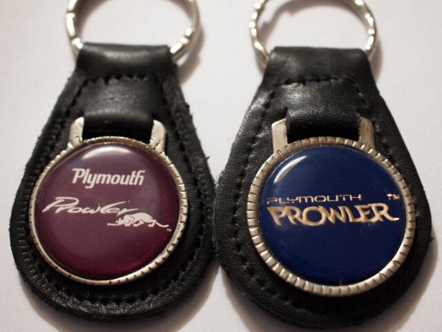 Plymouth GTX Black Teardrop Shaped Key Chain Keychain FOB Ring Lanyard INC Au-Tomotive Gold