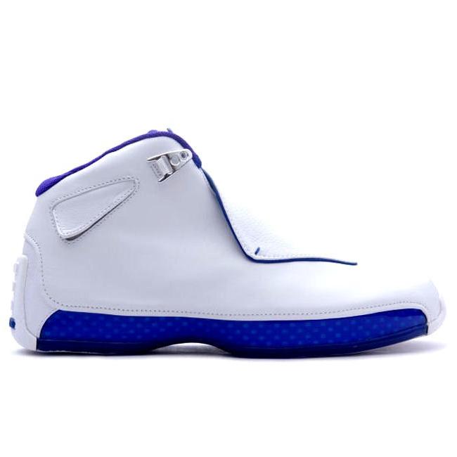 NIKE Air Jordan 18 Retro 2018 LIMITED EDITION Basketball Sneaker white AA2494106