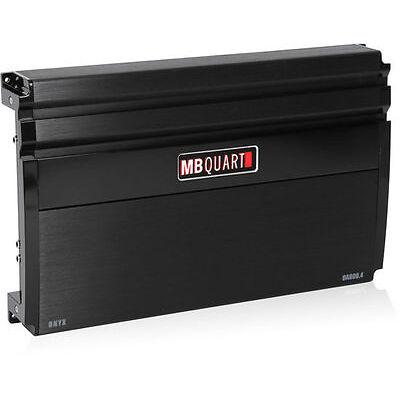 NEW MB Quart OA800.4 800W 4-Channel Amplifier Onyx Series Class SQ Car Amplifier